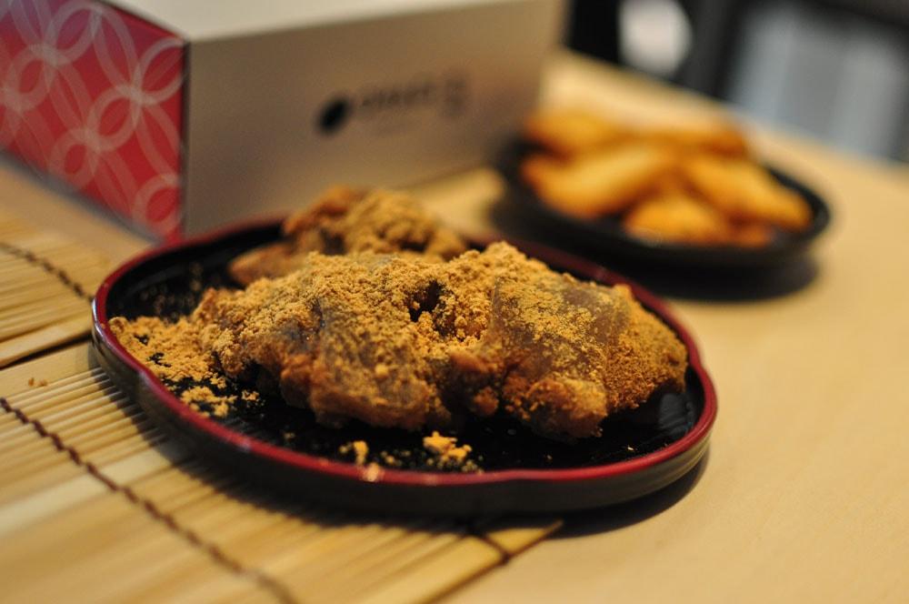 ohagi3のわらび餅